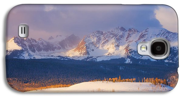 Snow Scenes Galaxy S4 Cases - Silverthorne Sunrise Galaxy S4 Case by Darren  White