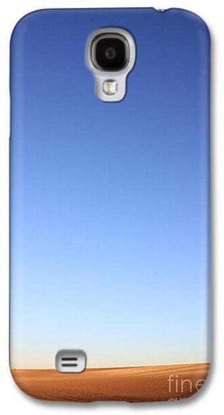 Farming Paintings Galaxy S4 Cases - Simple Landscape #1 Galaxy S4 Case by Pixel Chimp