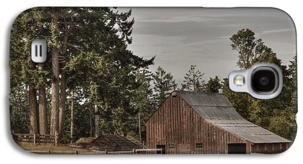 Outbuildings Galaxy S4 Cases - Simpler Times 2 Galaxy S4 Case by Randy Hall
