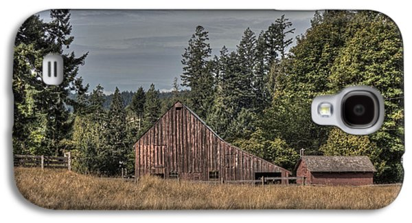 Outbuildings Galaxy S4 Cases - Simpler Times Galaxy S4 Case by Randy Hall
