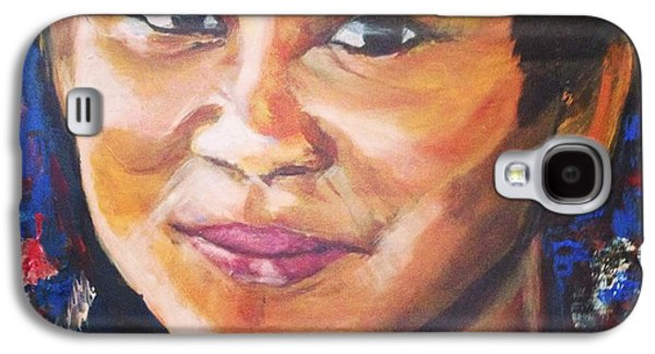 Baba Paintings Galaxy S4 Cases - Simply Moi Galaxy S4 Case by Belinda Low