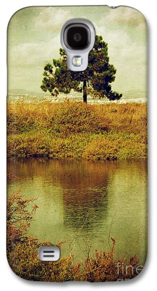 Mist Galaxy S4 Cases - Single pine tree Galaxy S4 Case by Carlos Caetano