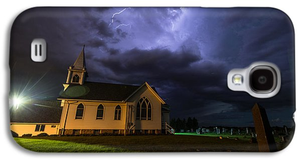 Cemetary Galaxy S4 Cases - Sinners Welcome Galaxy S4 Case by Aaron J Groen