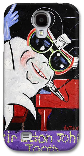 Elton John Galaxy S4 Cases - Sir Elton John Tooth  Galaxy S4 Case by Anthony Falbo