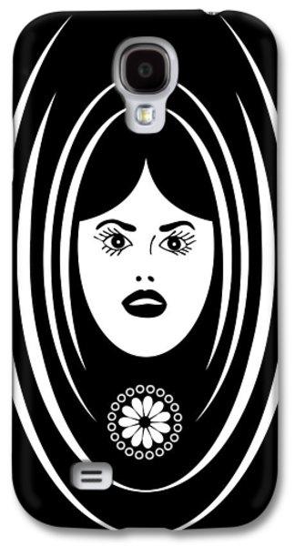 Studio Drawings Galaxy S4 Cases - Siren Galaxy S4 Case by Frank Tschakert