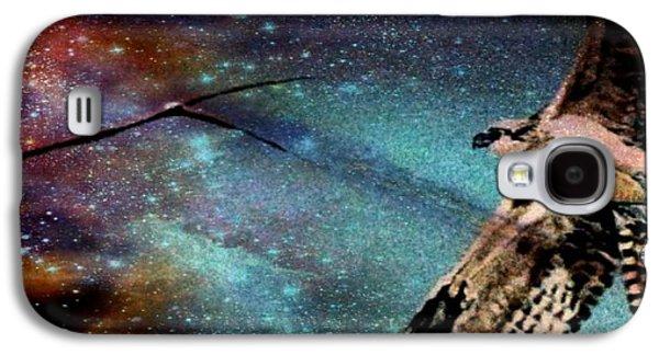 Yomamabird Rhonda Galaxy S4 Cases - Sister Hawk Galaxy S4 Case by YoMamaBird Rhonda