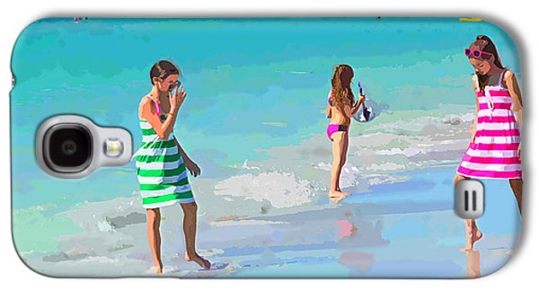 A Hot Summer Day Galaxy S4 Cases - Sisters Galaxy S4 Case by Susan Molnar