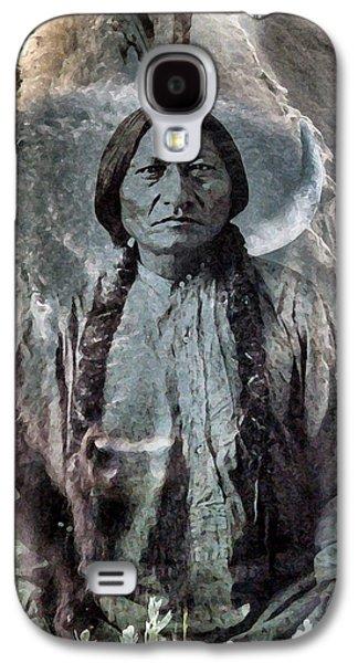 Sitting Bull . Lakota Sioux Holy Man Galaxy S4 Case by Patricia Januszkiewicz