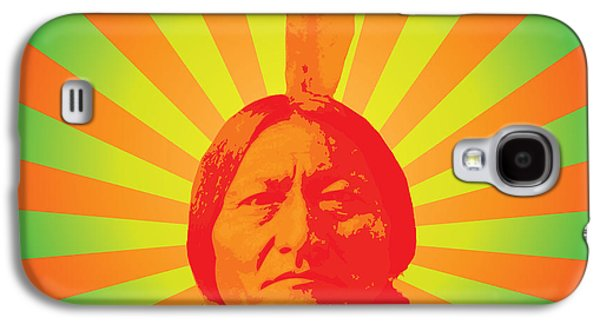 Americans Galaxy S4 Cases - Sitting Bull Galaxy S4 Case by Gary Grayson