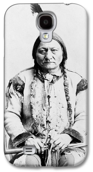 Americans Galaxy S4 Cases - Sitting Bull Galaxy S4 Case by War Is Hell Store