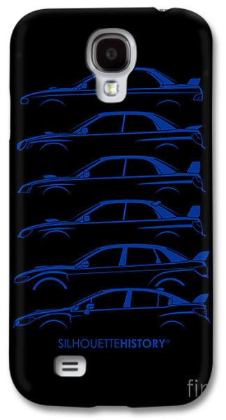 Boxer Digital Galaxy S4 Cases - Six Stars SilhouetteHistory Galaxy S4 Case by Gabor Vida