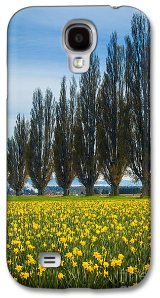 Agronomy Galaxy S4 Cases - Skagit Trees Galaxy S4 Case by Inge Johnsson