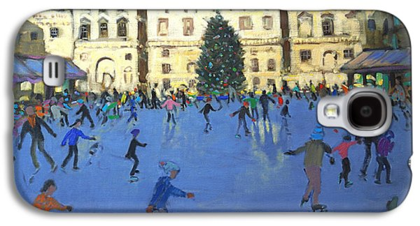 Somerset Galaxy S4 Cases - Skaters  Somerset House Galaxy S4 Case by Andrew Macara