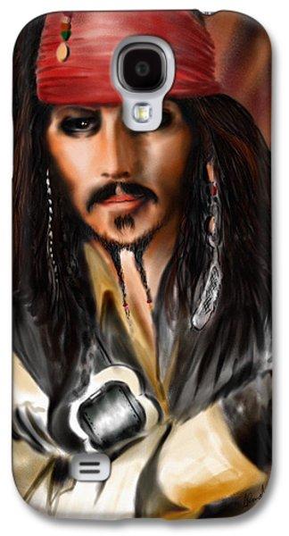 Sketching A Pirate... Galaxy S4 Case by Alessandro Della Pietra