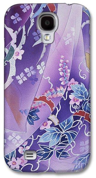 Purple Robe Galaxy S4 Cases - Skiyu Purple Robe Crop Galaxy S4 Case by Haruyo Morita