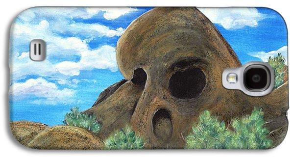 Landmarks Galaxy S4 Cases - Skull Rock Galaxy S4 Case by Anastasiya Malakhova