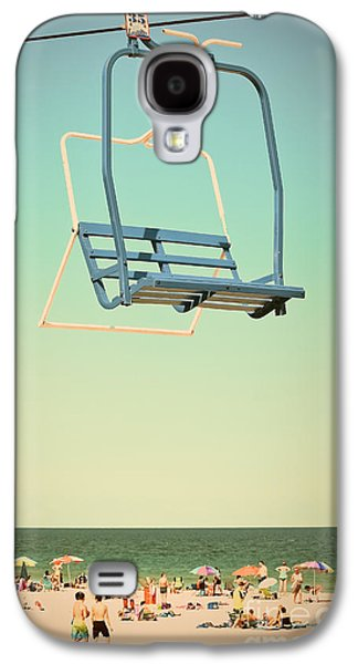 Sky Blue - Sky Ride Galaxy S4 Case by Colleen Kammerer
