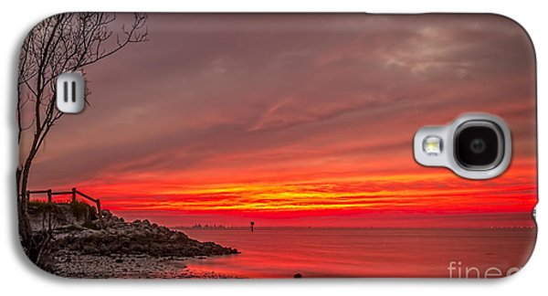Sky Fire Galaxy S4 Case by Marvin Spates