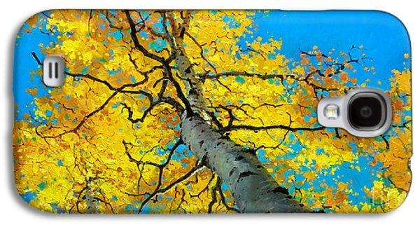 Aspen Galaxy S4 Cases - Sky High 3 Galaxy S4 Case by Gary Kim