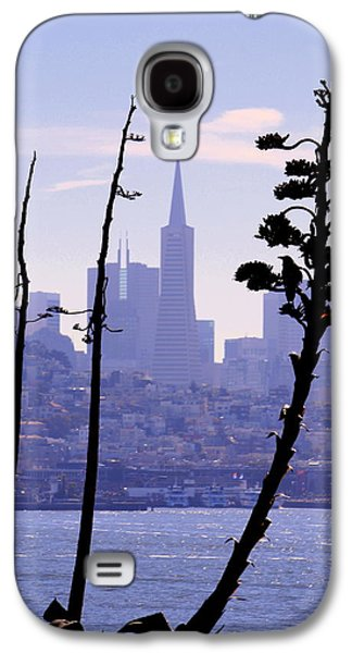 Buildings By The Ocean Galaxy S4 Cases - Sky Lines of SF Galaxy S4 Case by Nick Busselman