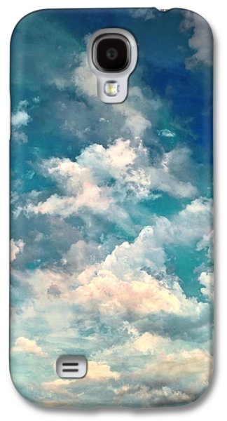 Installation Art Galaxy S4 Cases - Sky Moods - Refreshing Galaxy S4 Case by Glenn McCarthy