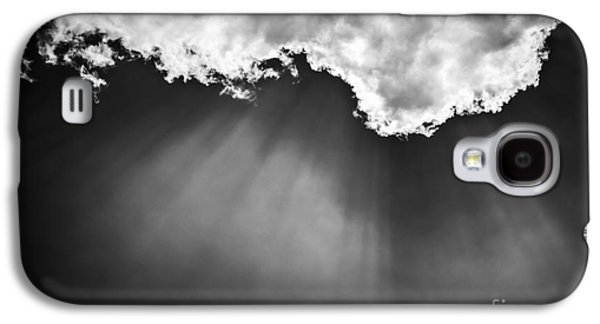Cloudy Day Galaxy S4 Cases - Sky with sunrays Galaxy S4 Case by Elena Elisseeva