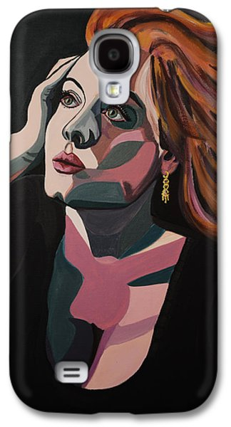 Adele Paintings Galaxy S4 Cases - Skyfall Galaxy S4 Case by Christel  Roelandt