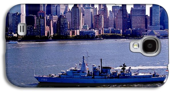Manhatten Galaxy S4 Cases - Skyline Steaming Galaxy S4 Case by Benjamin Yeager