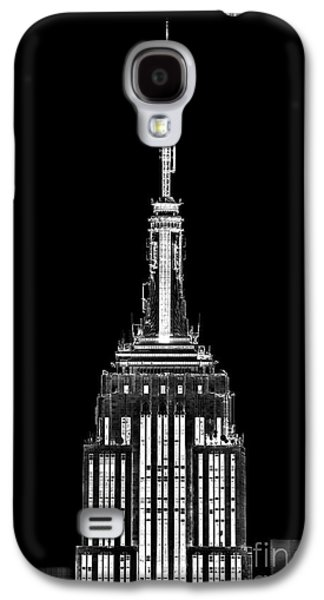Featured Art Galaxy S4 Cases - Skyscraper Galaxy S4 Case by Az Jackson