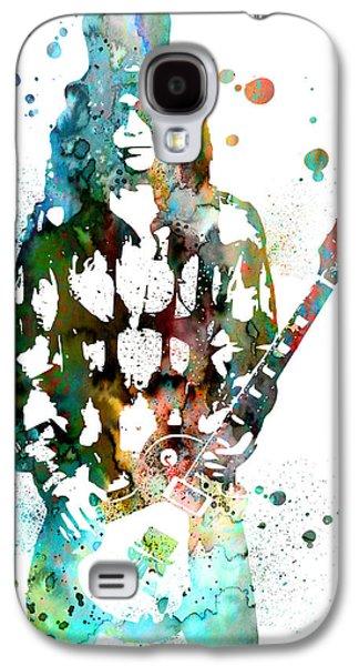 Slash Paintings Galaxy S4 Cases - Slash 2 Galaxy S4 Case by Luke and Slavi