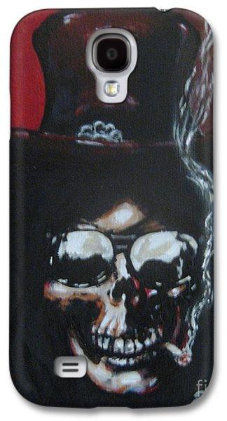 Slash Paintings Galaxy S4 Cases - Slash Galaxy S4 Case by David Boettcher