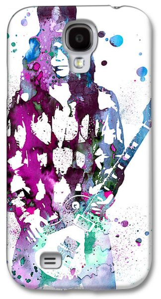 Slash Paintings Galaxy S4 Cases - Slash  Galaxy S4 Case by Luke and Slavi