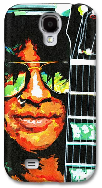 Slash Paintings Galaxy S4 Cases - Slash Galaxy S4 Case by Tanya Filichkin