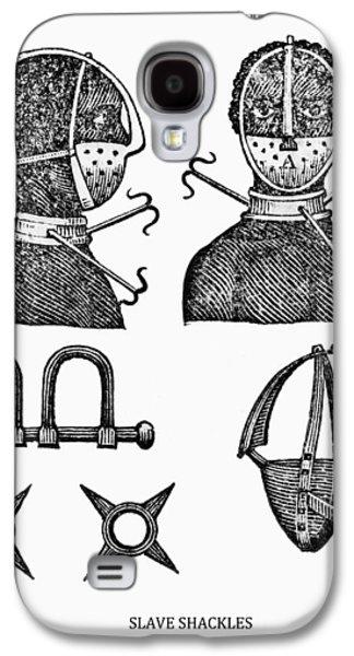 Slavery Galaxy S4 Cases - Slave Restraints  1807 Galaxy S4 Case by Daniel Hagerman