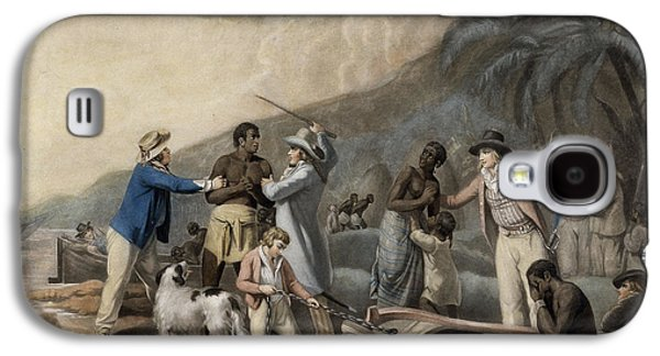 Slaves Galaxy S4 Cases - Slave Trade, Engraved By John Raphael Smith, 1791 Mezzotint Galaxy S4 Case by George Morland