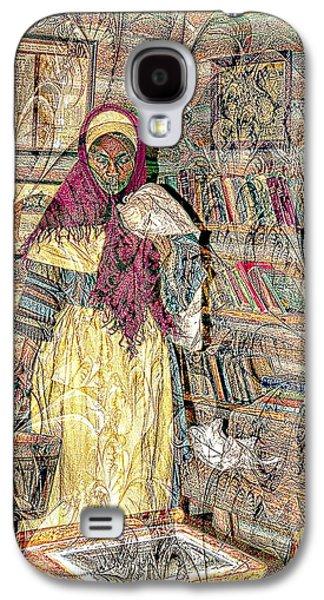 Slave Woman Art Galaxy S4 Case by Bob Pardue