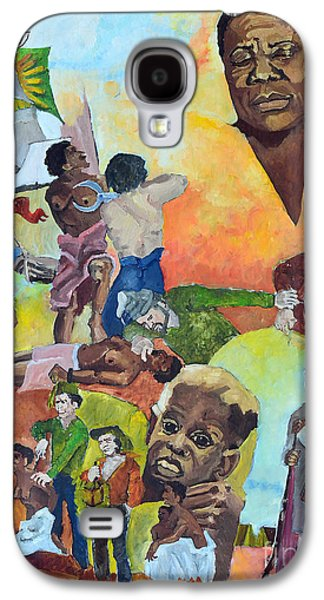 Slaves Galaxy S4 Cases - Slave Women Galaxy S4 Case by Charles M Williams