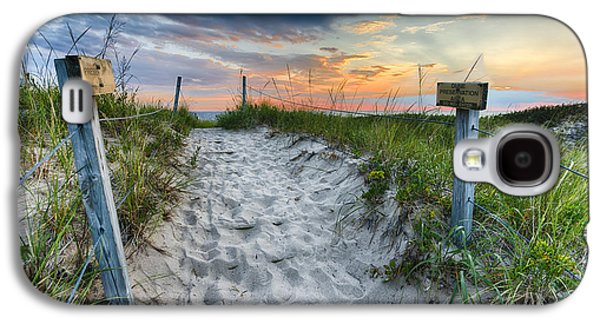 Sleeping Bear National Lakeshore Sunset Galaxy S4 Case by Sebastian Musial