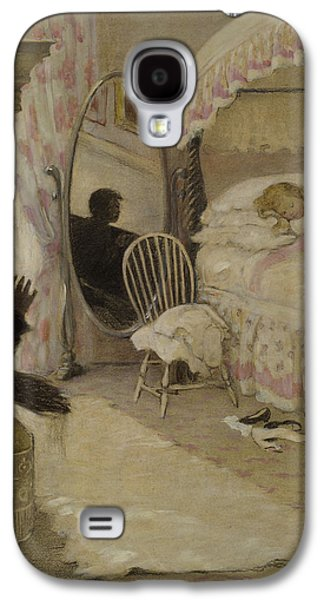 Innocence Galaxy S4 Cases - Sleeping Beauty circa 1916 Galaxy S4 Case by Aged Pixel