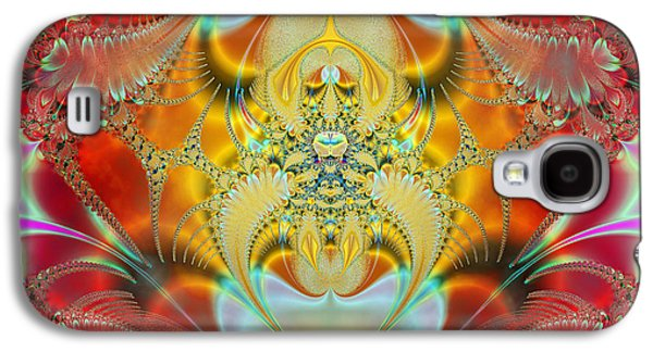 Algorithmic Abstract Galaxy S4 Cases - Sleeping Genie Galaxy S4 Case by Ian Mitchell