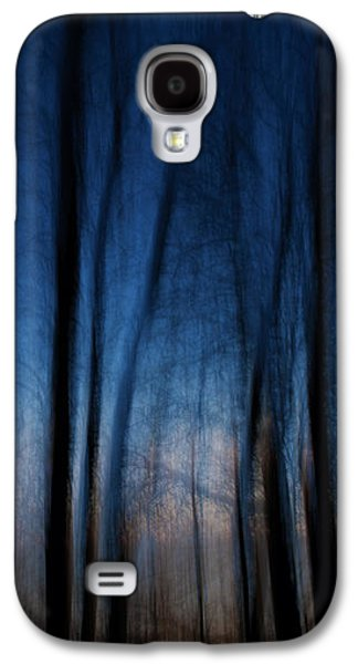 Nature Abstracts Galaxy S4 Cases - Sleepwalking... Galaxy S4 Case by Nina Stavlund