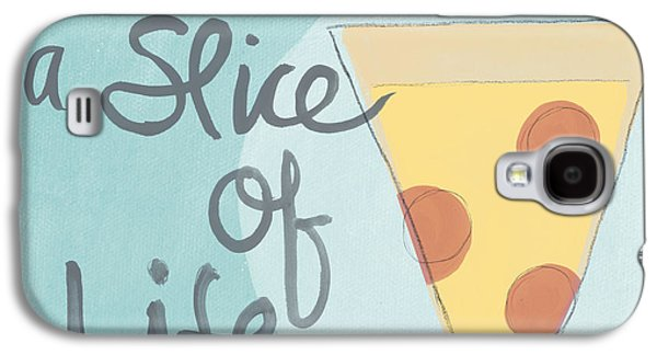 Drawing Galaxy S4 Cases - Slice of Life Galaxy S4 Case by Linda Woods
