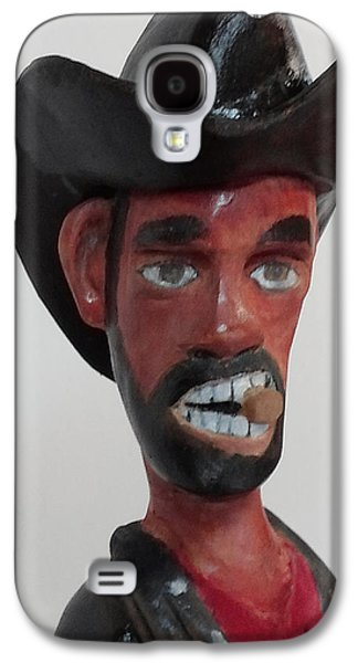 Michael Sculptures Galaxy S4 Cases - SLIM Close Up Galaxy S4 Case by Michael Pasko