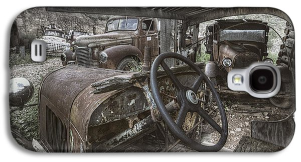 Antique Automobiles Galaxy S4 Cases - Slipping Away Galaxy S4 Case by Sean Foster
