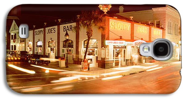 Information Photographs Galaxy S4 Cases - Sloppy Joes Bar, Duval Street, Key Galaxy S4 Case by Panoramic Images