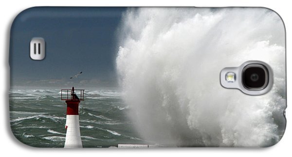 Abstract Digital Photographs Galaxy S4 Cases - Smacks of the Sea Galaxy S4 Case by Andrew  Hewett