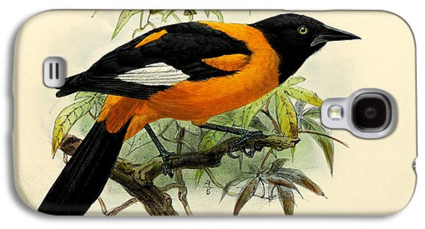 Small Oriole Galaxy S4 Case by J G Keulemans