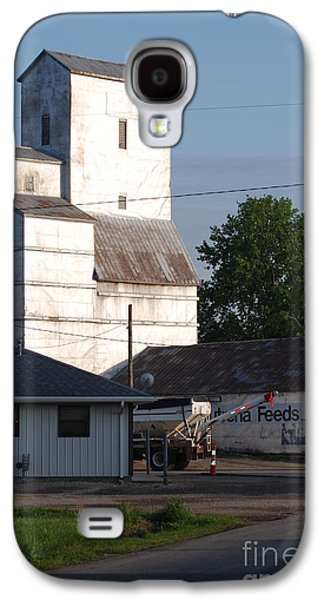 Feed Mill Galaxy S4 Cases - Small Town Feed Mill Galaxy S4 Case by Mark McReynolds