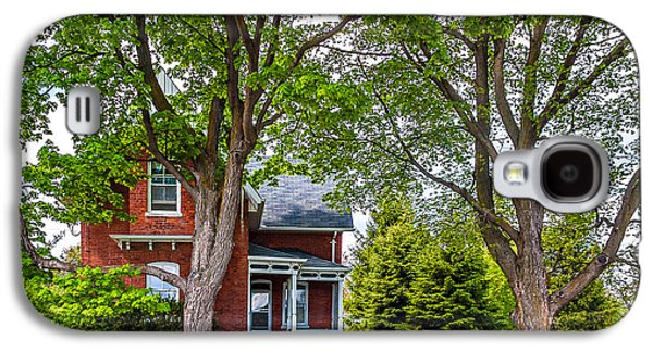 Architecture Metal Prints Galaxy S4 Cases - Small Town Ontario Galaxy S4 Case by Steve Harrington