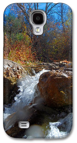 Waterscape Galaxy S4 Cases - Small Water Fall Galaxy S4 Case by Dan Vallo